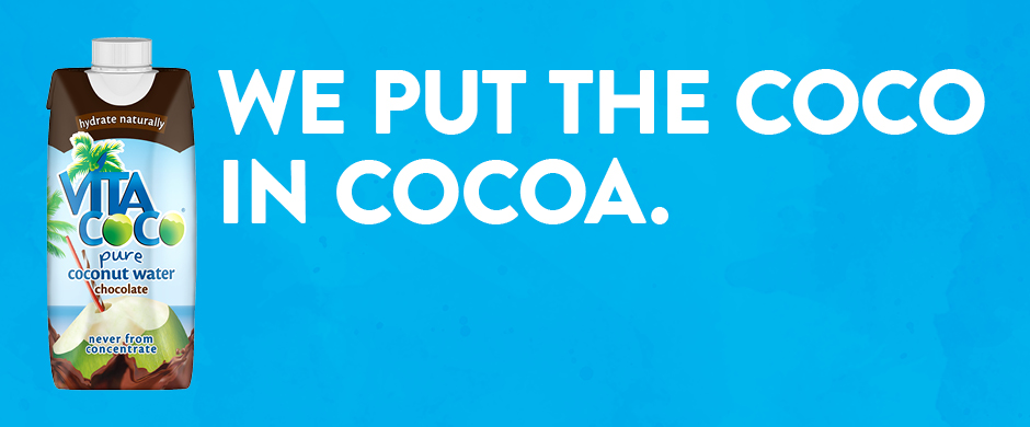 Vita Coco Chocolate We Put The Coco In Cocoa